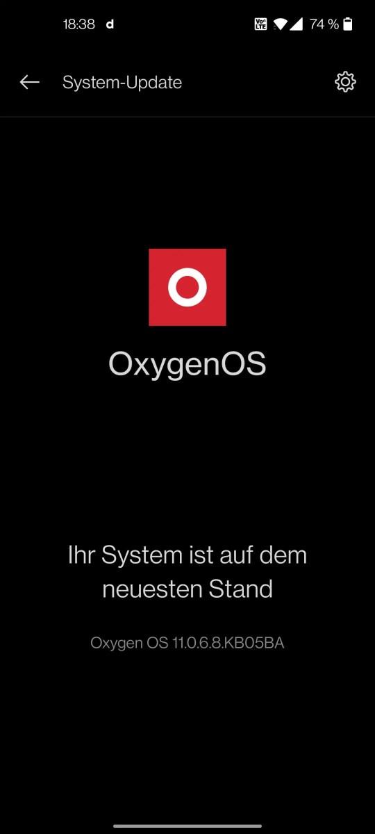 OnePlus 8T OxygenOS 11.0.6.8