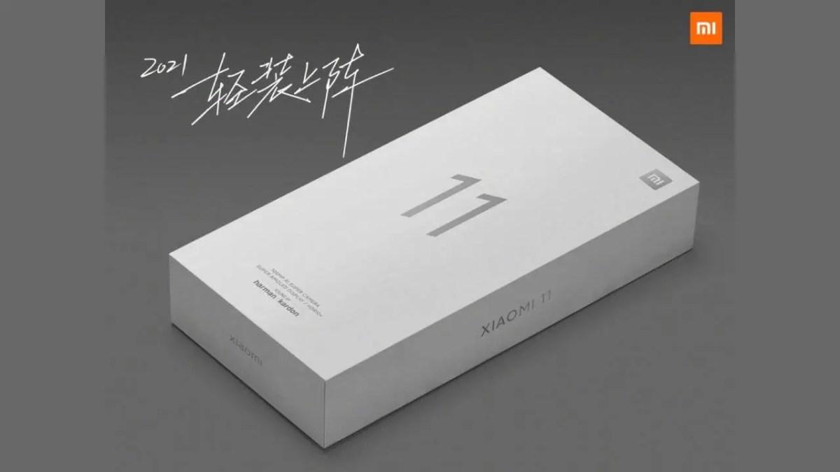 Xiaomi Mi 11 Verpackung