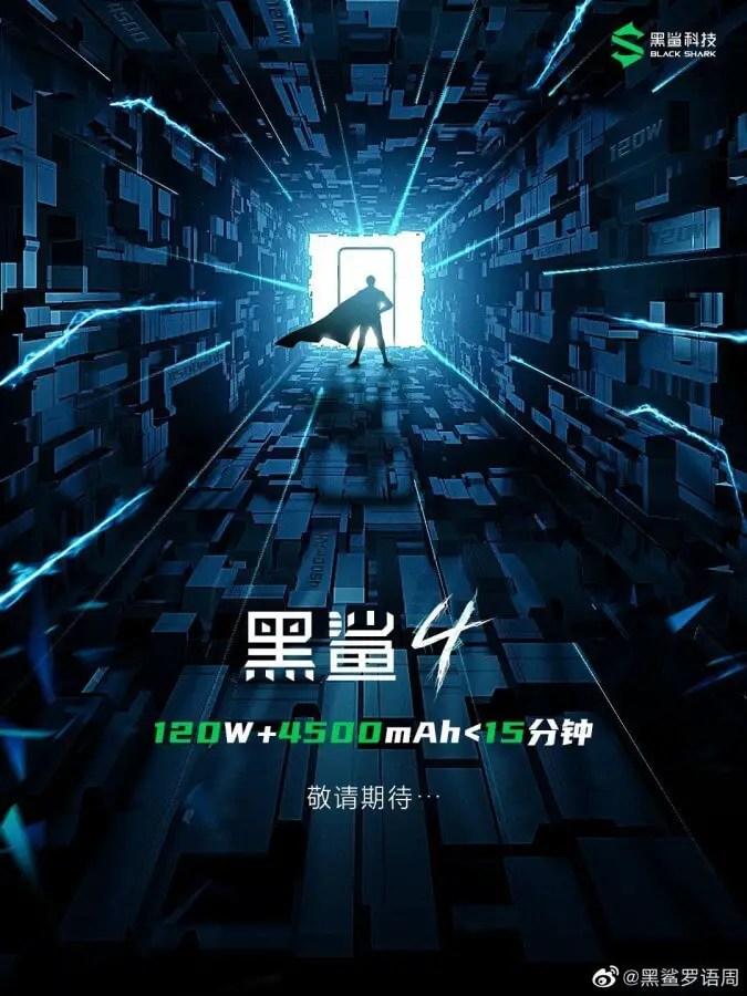Xiaomi Black Shark 4-Teaser