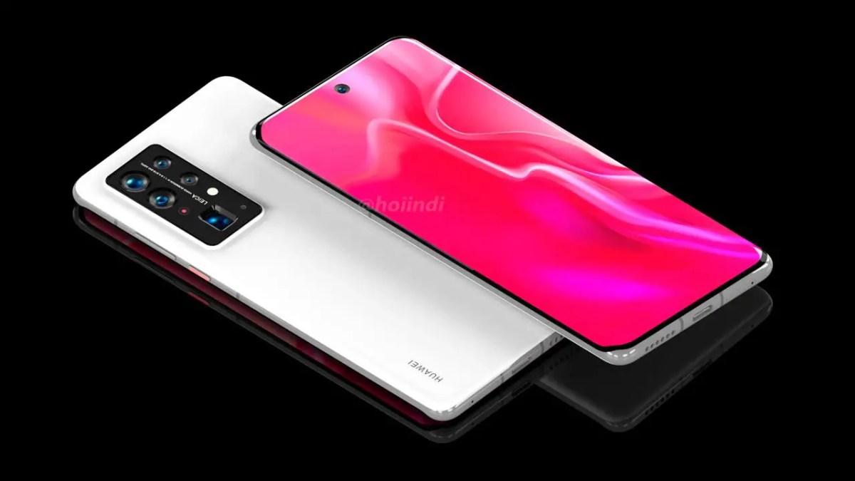 Huawei P50 Pro+ Render