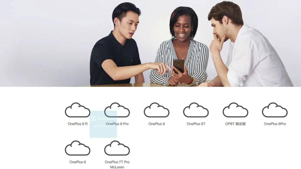 OnePlus 9 R Bestätigung