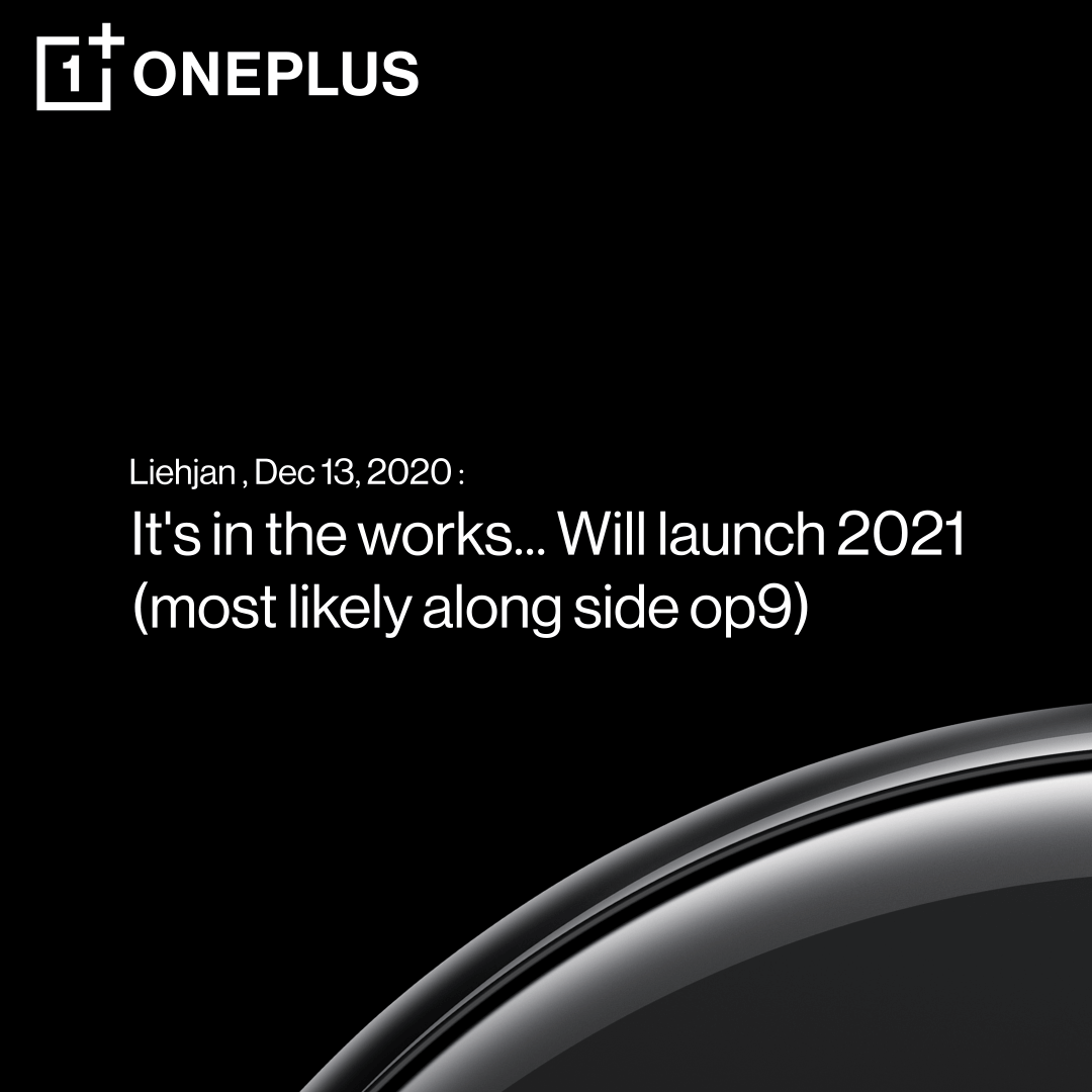 OnePlus Watch-Teaser
