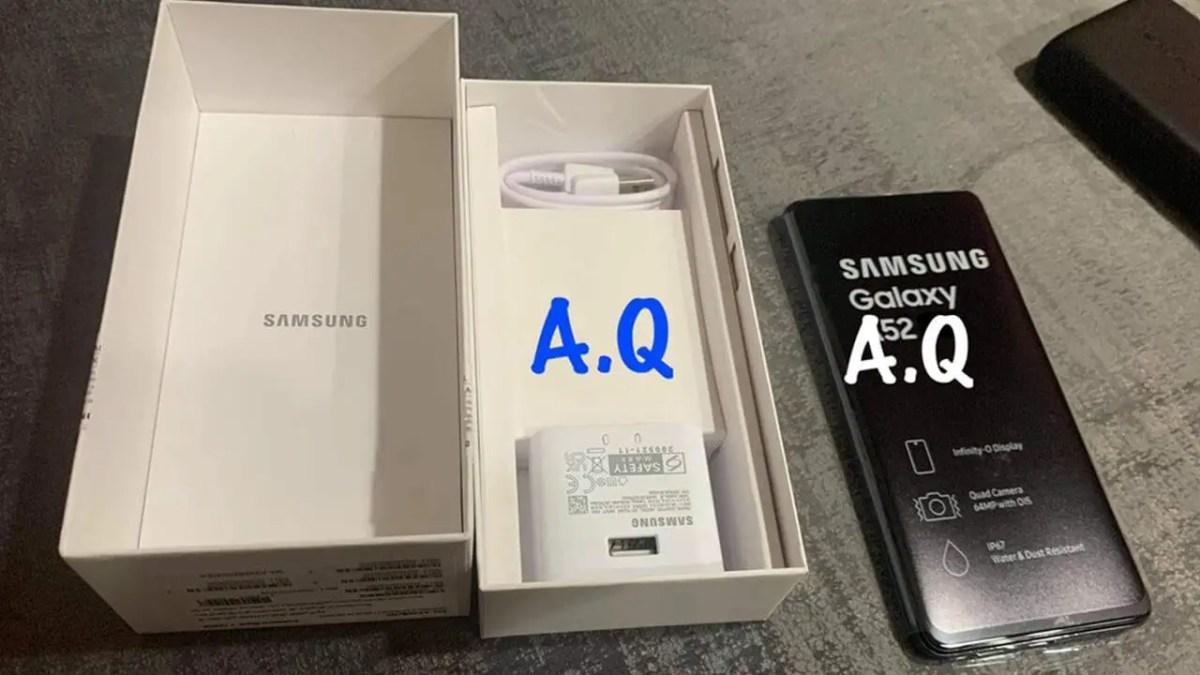 Samsung Galaxy A52 Leak