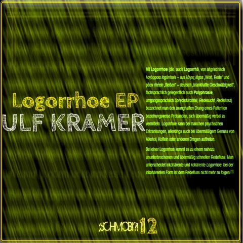 Ulf Kramer – Logorrhoe EP