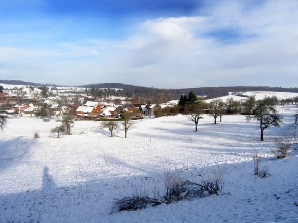 Schwickartshausen im Winter