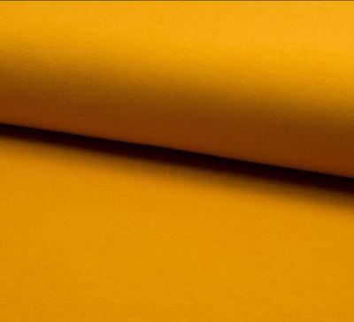 Interlock senfgelb 95% Baumolle 5%Elasthan