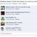 Netter Facebook Statuskommentar