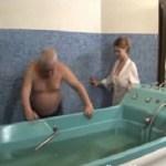 Heiss baden…