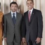 Obama's lachen