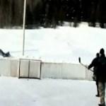 Sport ist Mord: Puck gegen Kopf