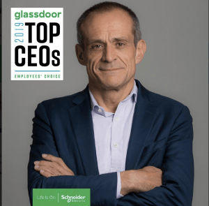 Schneider Electric is proud to announce that our CEO has won a Glassdoor Employees' Choice Award!