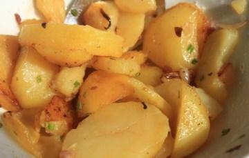 Orientalische Bratkartoffeln