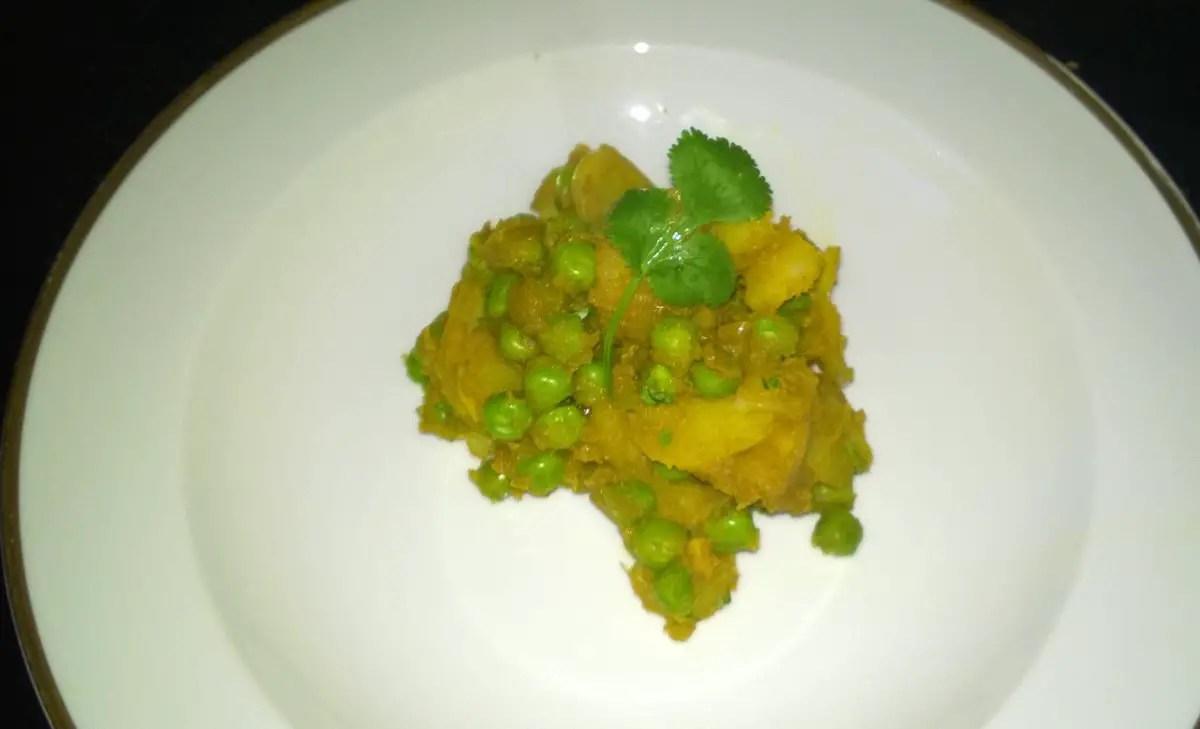 Aloo Mattar : Kartoffel-Erbsen-Curry