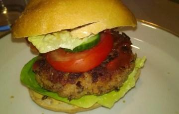 Kidney-Burger – vegetarischer Burger mit Kidneybohnen