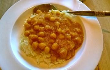 Kichererbsen-Curry im Instant Pot