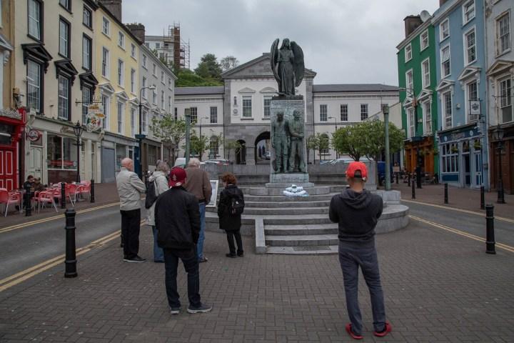 Denkmal zum Gedenken an den Untergang der Lusitania