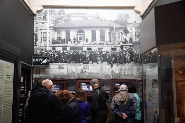 Ausstellungsräume der Titanic Experience in Cobh