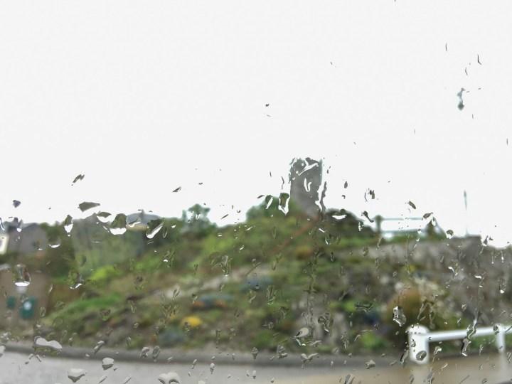 Irisches Regenwetter
