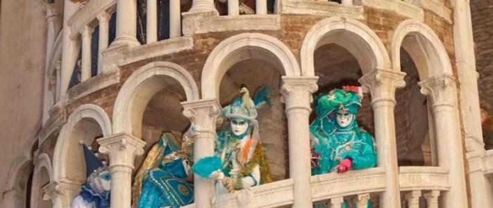 Nicht nur bei den Masken des Karnevals ein beliebtes Fotomotiv