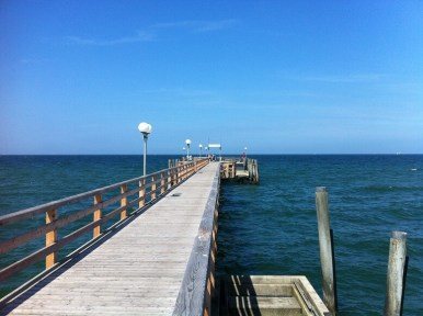 Seebrücke Ostsee