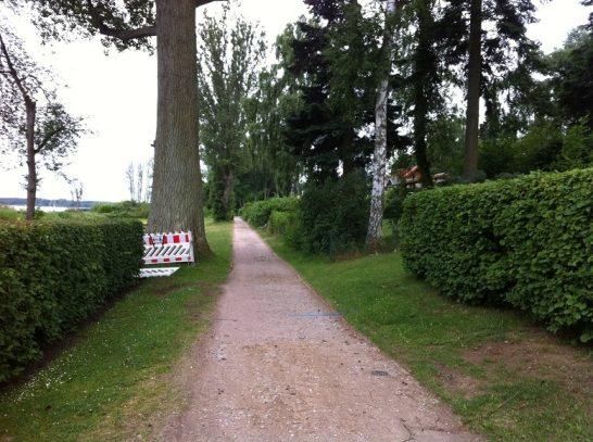 Radweg Plauer See Westseite
