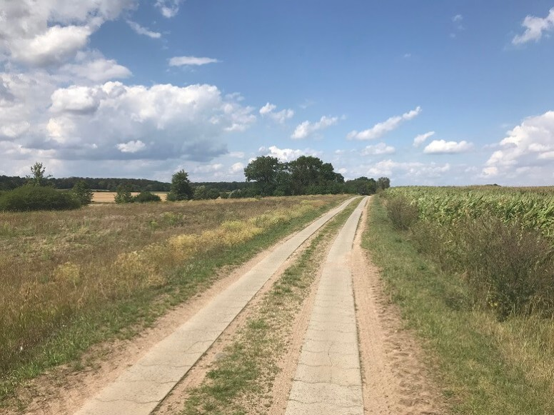 Radweg nach Usedom