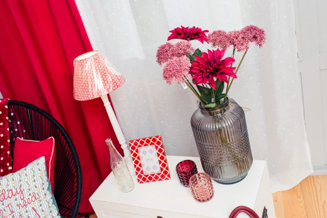 Farbwelt Rot Deko