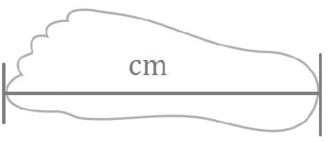 Schoenmaat omrekenen naar centimeters