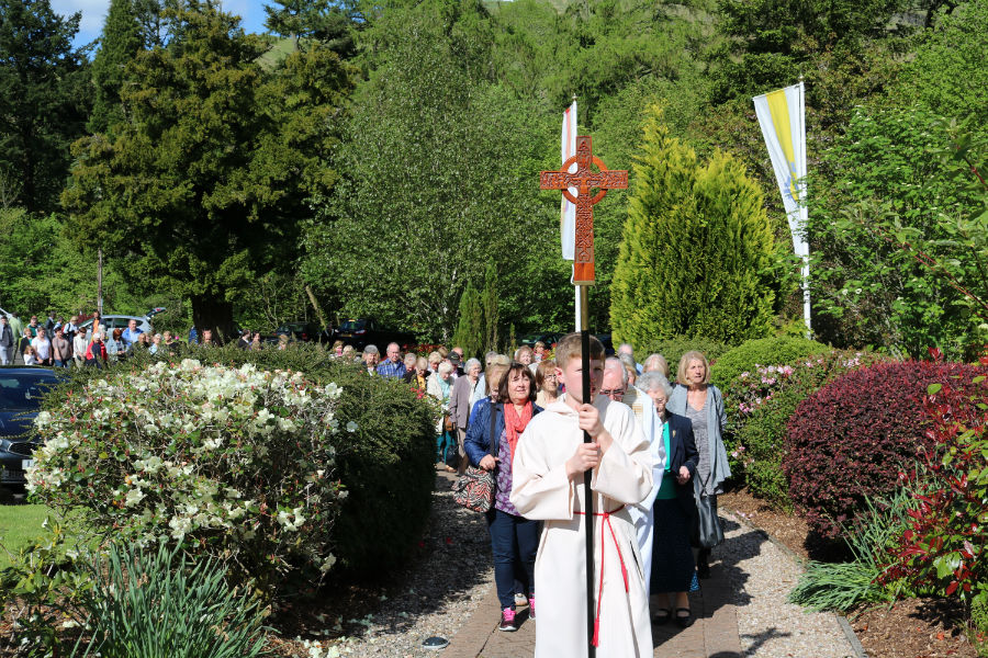 TALK DELIVERED AT THE MAY 22ND PILGRIMAGE AND CROWNING OF OUR MOTHER IN THE SHRINE