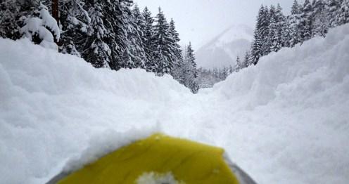 Schneeschuhperspektive