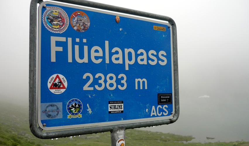 Flüelapass - Schweiz