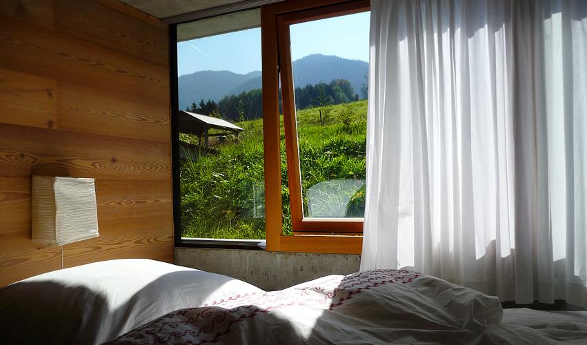Bleibe Bad Kohlgrub - Schlafzimmer