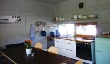 Küche mit Esstisch - Bleibe Bad Kohlgrub
