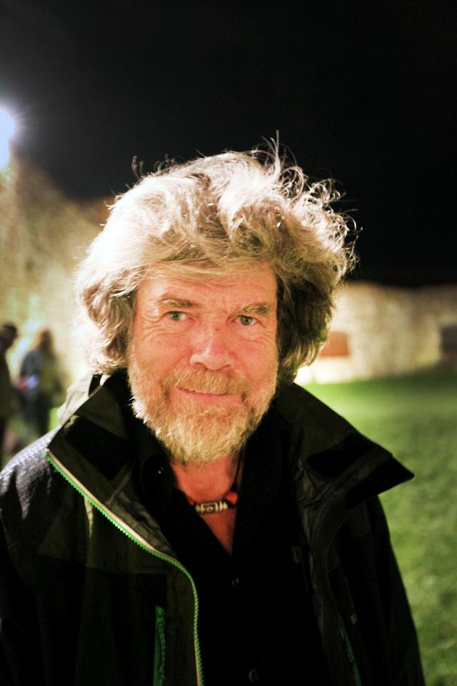 Reinhold Messner 2014 - Foto Peter Breuer