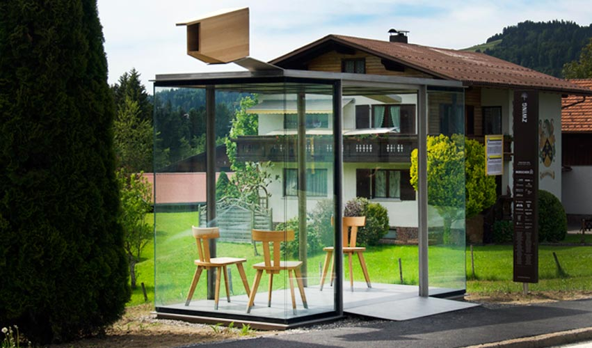 Busstop Krumbach – Chile