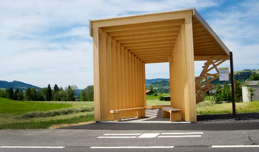 Busstop Krumbach – China
