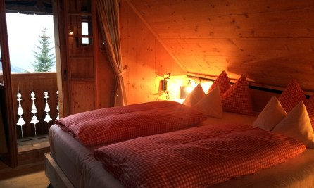 Hütte Almdorf Seinerzeit