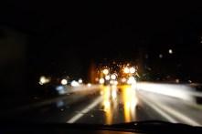 Rückfahrt nach Hofgastein bei Regen
