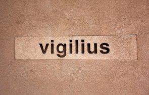 Vigilius Schriftzug am Hotel