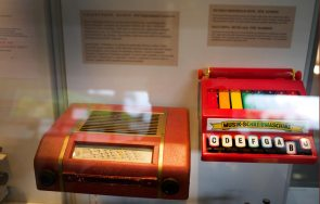 Telefunkenradio Kinderschreibmaschine