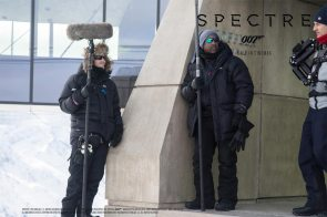 Dreharbeiten zu James Bond in Sölden – SPECTRE© 2015
