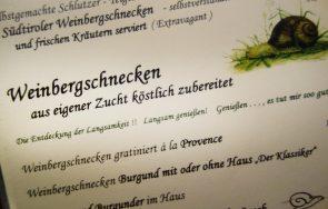 Menü Restaurant Onkel Taa - Bad Egart