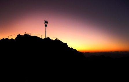 Zugspitze am Abend