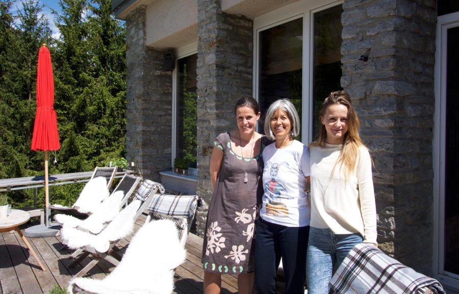Elfi Mayr- Evelyn Ikrath - Yogalehrerin Malu - Hotel Miramonte Bad Gastein