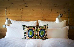 Alpenlofts Bad Gastein Bett