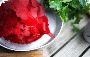 Gemüsestreifen Tarte-Rezept