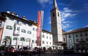 Marktplatz Kaltern Südtirol