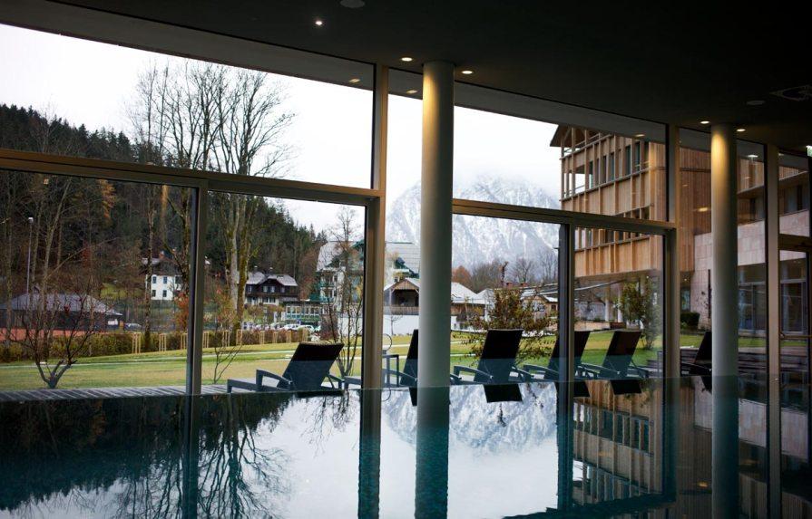 Schwimmbecken Vivamayr Altaussee