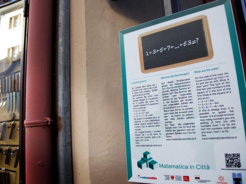 Mathematik in der Stadt Bozen