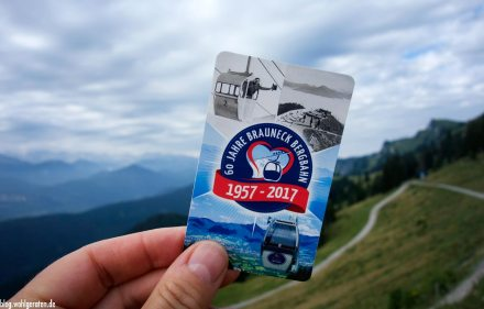 Bergbahn Brauneck - Liftkarte